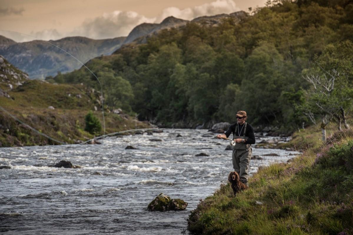 Eilean Darach fishing